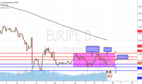 EURJPY: EURJPY FORECAST - Preparing for a bounce