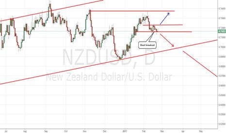 NZDUSD: NZDUSD bearish setup