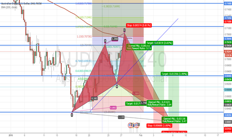 AUDUSD: AUDUSD on Shark pattern