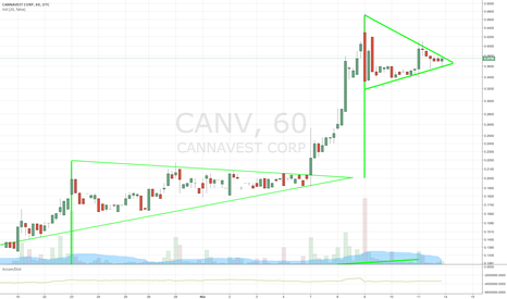 CANV: $CANV SECOND BULL PENNANT