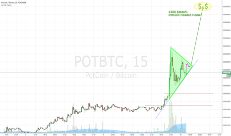 POTBTC: PotCoin to 4200 Satoshi - Another Double - YES ANOTHER ONE!