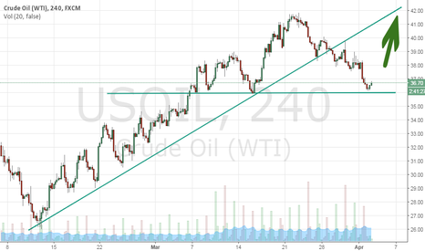 USOIL: Oil rebounds and continues to rise