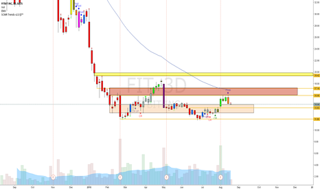 FIT: $FIT possible consolidation before rise up
