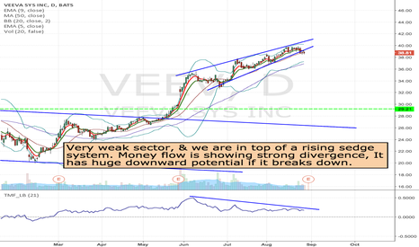 VEEV: VEEV - Watching for Short opportunity