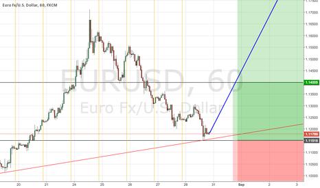 EURUSD: EURUSD looking on the long term trade
