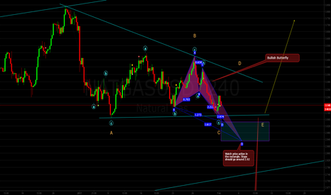 NATGASUSD: Natural Gas: Watching For Triangle or Bullish Butterfly