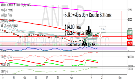 ANF: Bulkowski's Ugly Double Bottoms
