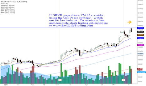 BLUE: BRKR Day Trade Gap N Go (Brad Reed May21,2015)