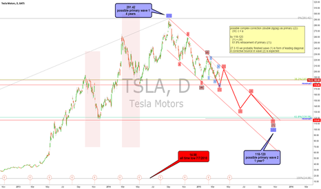 TSLA: TESLA - long, but not for long...