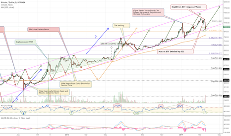 BTCUSD: Bitcoin is Back to a Critical Support Level