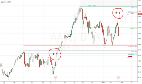 AAPL: Apple Earnings and the Fib .886 Relationship