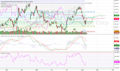 IBM: IBM Corp Daily (12.08.2014) Technical Analysis Training