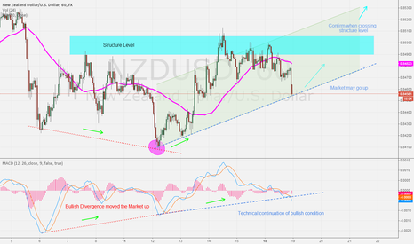 NZDUSD: Bullish Potential NZD/USD 19/8/14