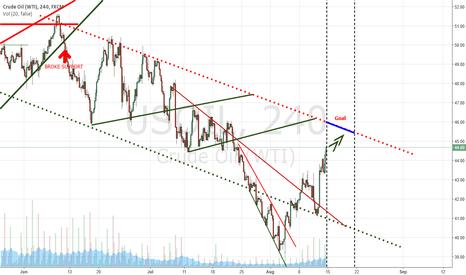 USOIL: Crude price target for next week.