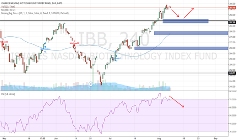 IBB: $IBB drop to previous support