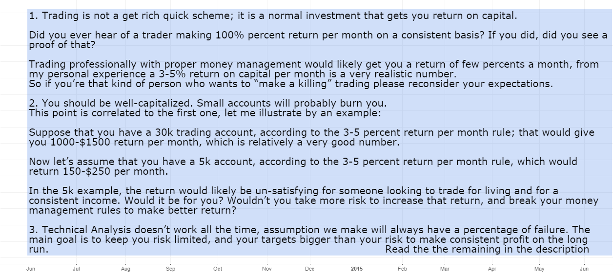 Trading? Here are 10 Things You Should Consider