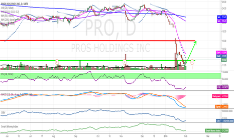 PRO: Extremely oversold from last week, ready for a bounce, PT 16.