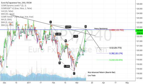 EURJPY: Nice Bearish Bat on EUR/JPY