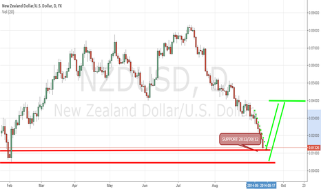 NZDUSD: NZD/USD : SUPPORT ZONE