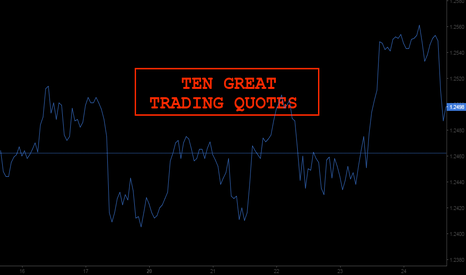 GBPUSD: 10 Great Trading Quotes
