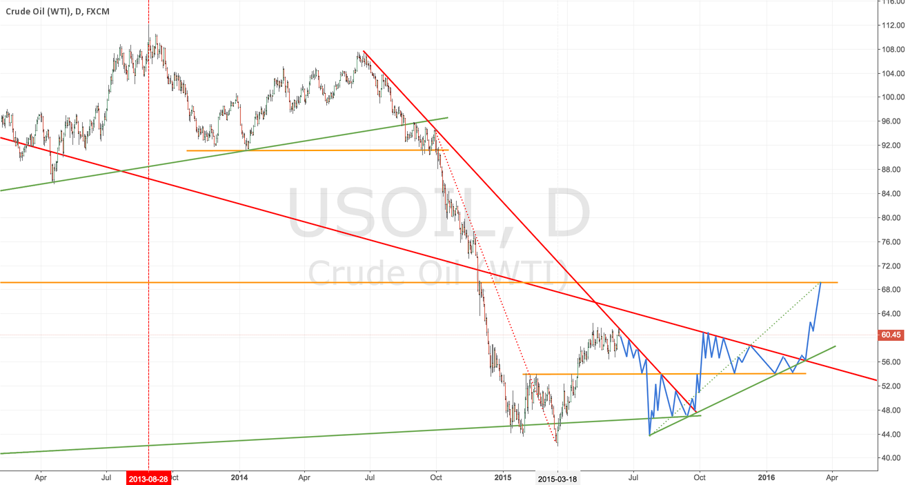 $USIL - My Crude Oil 9-month Forecast