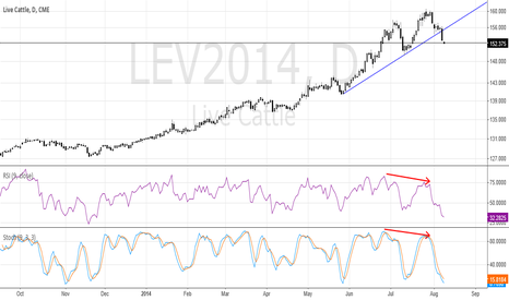 LEV2014: LE-Bearish Divergence