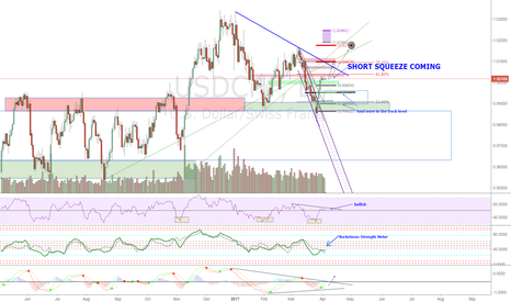USDCHF: USDCHF Short Squeeze Coming: 900 pip target