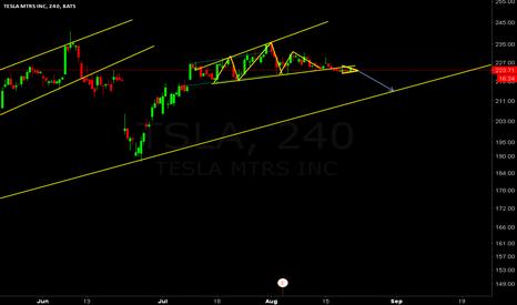 TSLA: A little retracement