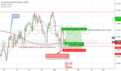 USDCAD: USDCAD (DAILY) Potential Long Setup