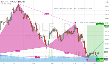 DLF: February DLF - LONG 110+ target