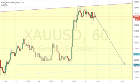XAUUSD: Time to go short GOLD