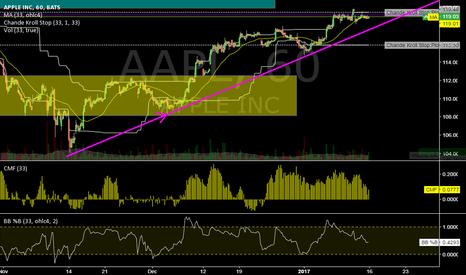 AAPL: AAPL @ 1h @ will upside trend be cofirmed while this week ?