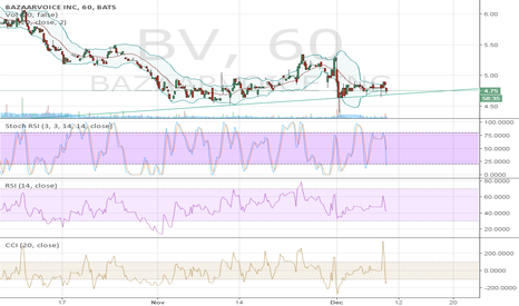 BV: Moving along fairly well established trendline.