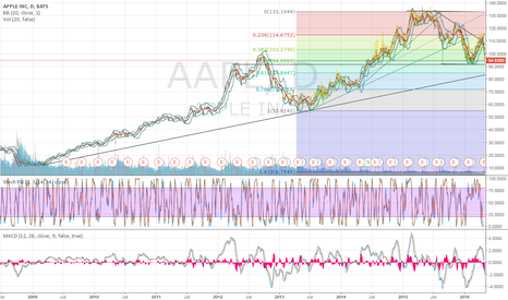 AAPL: 50% Fib retrace from 2013 lows.