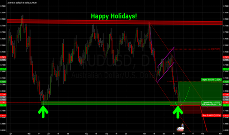 AUDUSD: Merry Christmas - Happy Holidays!