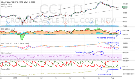 CCI: Potential long opportunity in CCI