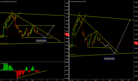 EURCAD: EURCAD Two Possibilities