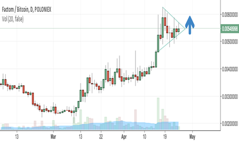 FCTBTC: FACTOM (FCT) to enter bullish pattern like we have seen with ETH