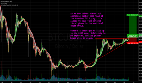 BTCUSD: Bullish: Bitcoin at Hope phase, and Bears will be Slain.