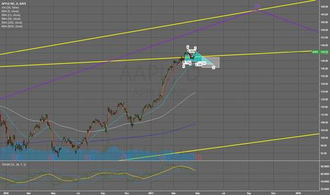 AAPL: Overall Bullish trend to complete a wave 3 with butterfly entry