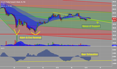 BTCUSD1W: Three Component Analysis: More Buying to Come