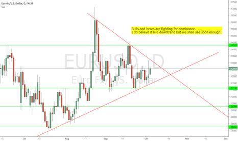 EURUSD: Indecision EURSUD on a Monday