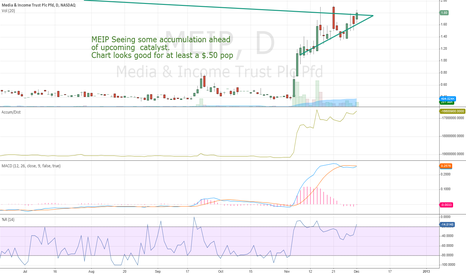 MEIP: MEIP Catalyst Trade With Technical Set-Up