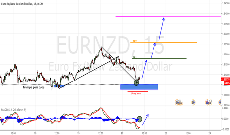 EURNZD: support zone