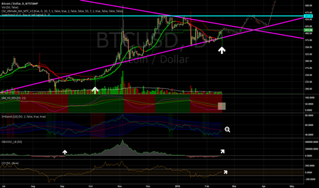 BTCUSD: Bitcoin forecast April/May 2016