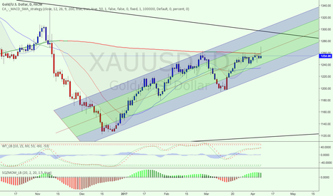 XAUUSD: Golden tunnel?