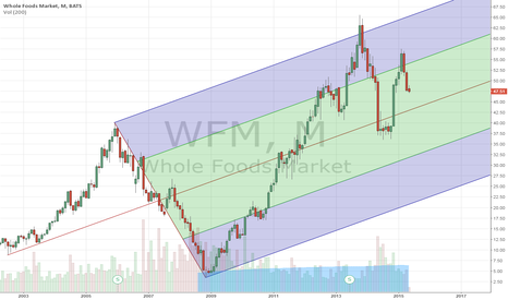 WFM: Monthly chart