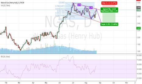 NGAS: NGAS fresh position [SHORT]