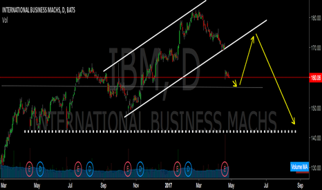 IBM: SHORT TERM POSSIBLE PULLBACK..LONG TERM FASTEN YOUR SEATBELTS !
