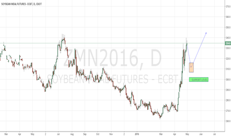 ZMN2016: Soybeanmeal in corrective move down